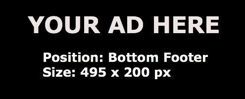 Ad Bottom Footer
