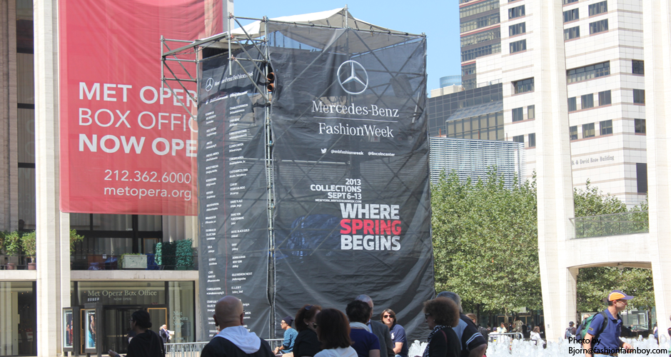 Image of New York Fashion Week